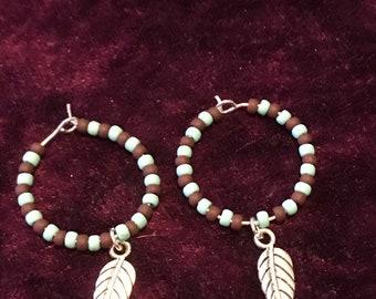 Cherokee hoop earrings