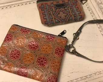 Small Boho Zipper Pouches