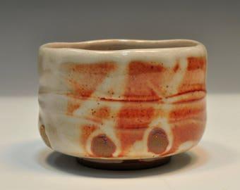 Stoneware Cup - Shino Yunomi
