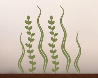 Seaweed Wall Decal - Sea Ocean Friends