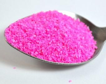 Bag 10 oz of fake pink sand