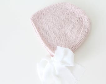 12-18 months girl hat - Photo prop hat - Sitter props - Baby girl hat - Photo props - Girl hat - Photography 12-18 months props - Soft pink