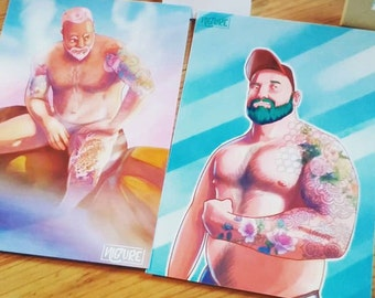 Pin Up Bara Print Pack