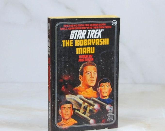 Vintage Star Trek Book, The Kobayashi Maru, Paperback, 1989, Original Series, 254 Pages, Julia Ecklar, Starfleet Academy, Test, Kirk