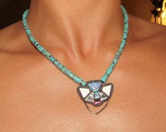 Opal Sky Necklace