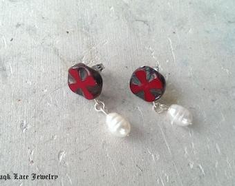 Crusader Earrings