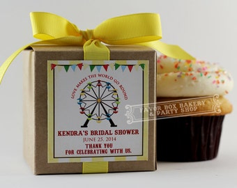 FERRIS WHEEL -Cupcake Mix Party Favors for Bridal Showers, Baby Showers, Weddings, Birthdays, and more!