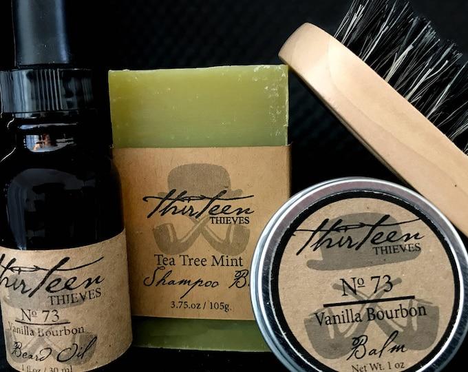 Shampoo Bar Beard Kit