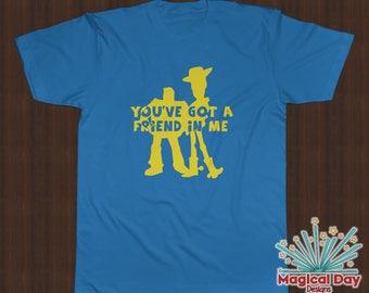 Disney Shirts - You've Got a Friend In Me (Yellow Vinyl Design)