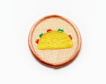 Iron-on Taco Patch