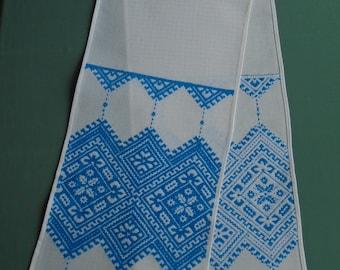Ukrainian Hand Embroidered Wedding Towel, Rushnyk, Ukraine,