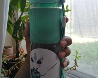 JAHREYK High Alien Sticker