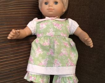 Bitty Baby girl - bunny dress