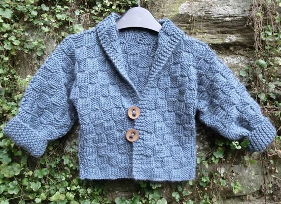 Baby Jacke Stricken Muster gestrickt jungen Mantel Mädchen
