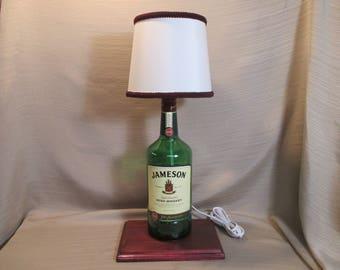 Jameson Liquor Bottle Lamp