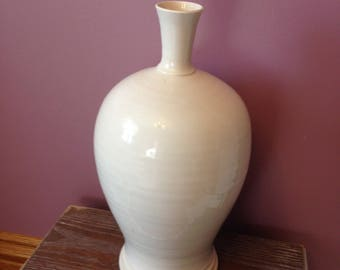 Large Vintage Ceramic Vase/Bottle