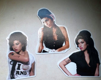 Amy Winehouse Sticker Set