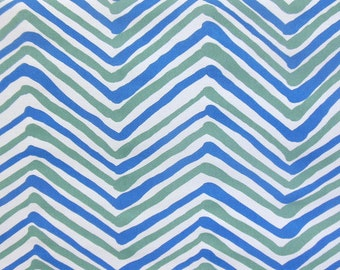 Quadrille Alan Campbell Multi Colored Zig Zag Pillow Cover
