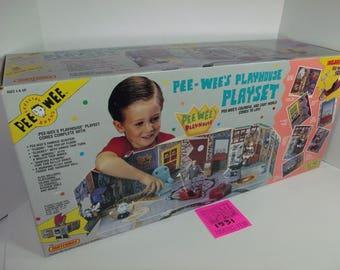 1980's PeeWee's Playhouse Set-Sealed