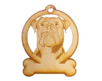 Bullmastiff Ornament - Bullmastiff Gift - Bullmastiff Ornaments - Bullmastiff Gifts - Bullmastiff Memorial - Personalized Free