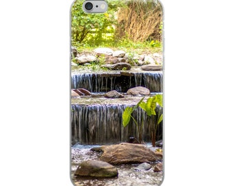 Green Waterfalls | iPhone Case