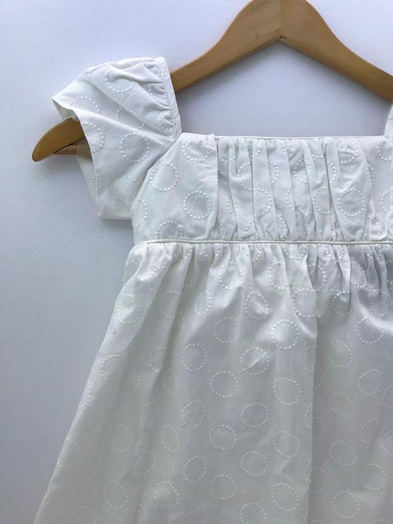 Girls Dress size 6 - Empire Waist Dress -Girls Embroidered Gown - Flower girl Dress - Junior Bridesmaid Dress - Wedding Party