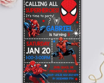 Spider man invitation spiderman birthday invitation spider spiderman invitation spiderman party spiderman birthday invitation spiderman birthday spiderman printable filmwisefo