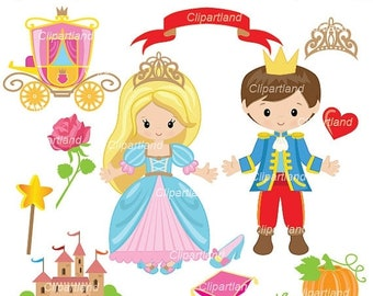 ON SALE INSTANT Download. Ccind_9_Cinderella. Cinderella clip art. Personal and commercial use.