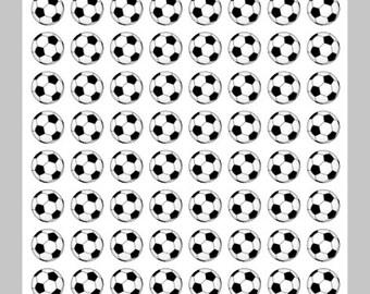 Soccer Stickers Soccer Ball Stickers Soccer Practice Reminder for Erin Condren Life Planner Plum Paper Planner Soccer Game Stickers