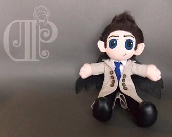 Castiel Supernatural Doll Plushie Toy Misha Collins