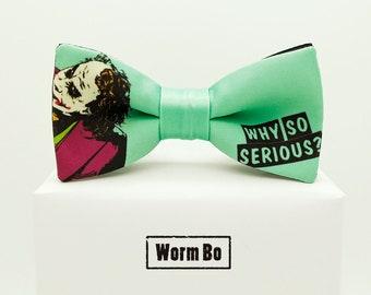 Joker Bow tie, Batman bowtie, Comics and cartoons