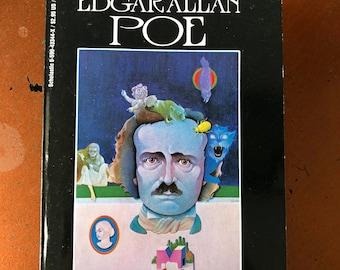 Ten Great Mysteries By Edgar Allan Poe - Vintage Horror Book - 1989