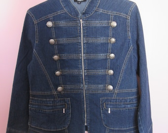 Military style jacket Denim Jeans