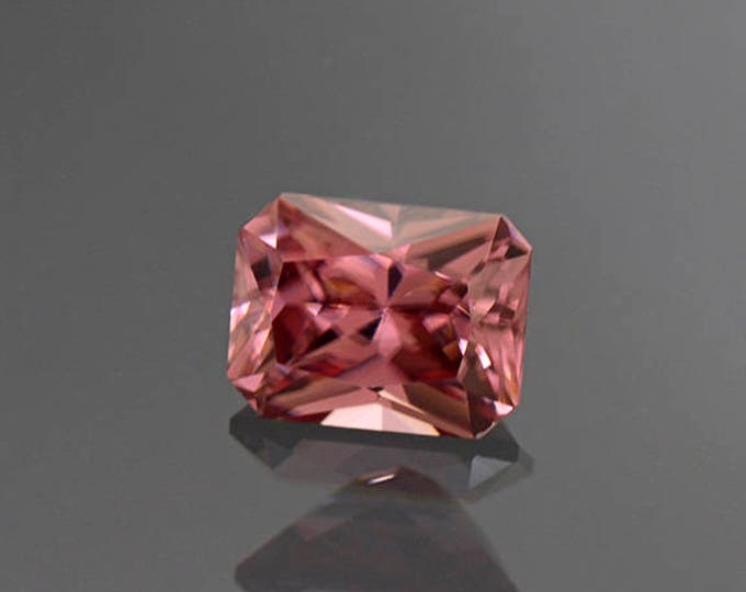 Fantastic Pink Champagne Zircon Gemstone from Tanzania 2.89 cts.