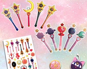 Stuck On Holo-Senshi-Uals Gift Pack