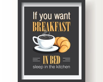 Kitchen decor, Kitchen wall art, Kitchen prints, Coffee prints, Living room decor, Kitchen, Coffee, Housewarming gift, Kitchen print