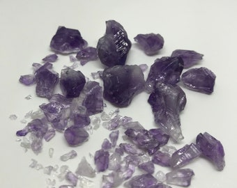 Small Amethyst Pieces