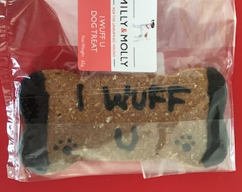 Giant Personalised Dog Biscuit