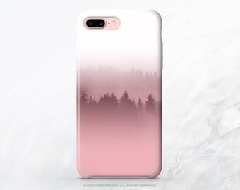 iPhone X Case iPhone 8 Case iPhone 7 Case Mauve Pink Forest iPhone 7 Case iPhone SE Case Tough Samsung S8 Plus Case Galaxy S8 Case T64