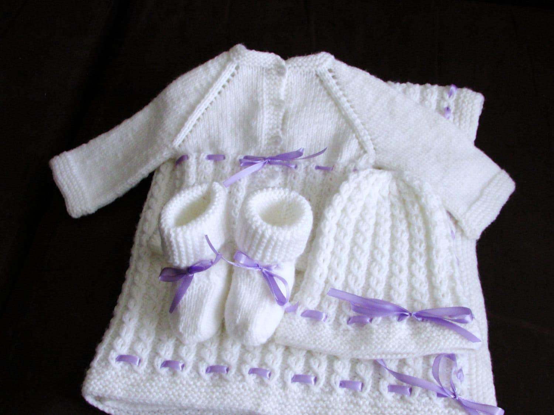 Contemporary Baby Sets Knitting Patterns Pattern - Decke Stricken ...