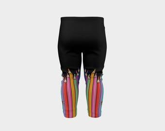 Baby Leggings - Coloured Pencils