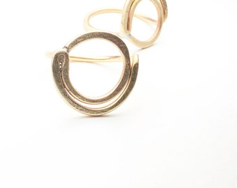 Brass LUNAR Ring