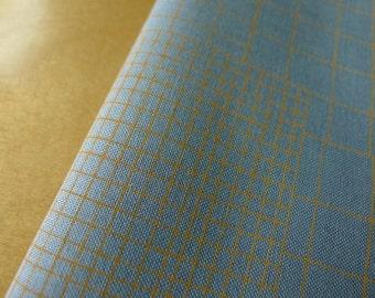 Doe Intersections in Sky Blue AFR-15025-63 Carolyn Friedlander for Robert Kaufman - Half Yard - Modern Quilting Sewing Cotton Fabric