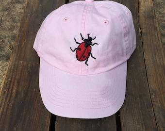 Ladybug Hat - Youth