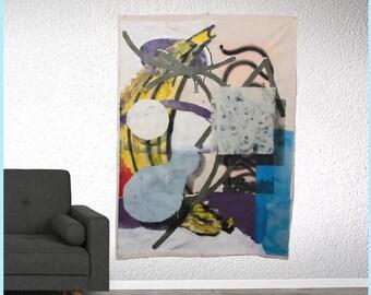 Abstract art | Art | Canvas |  Mixed media Art | Modern Art | By Almog Gabrieli