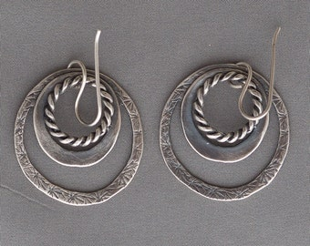 Sterling Silver Earrings Handmade