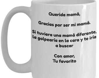 Regalo chistoso para el día de las madres - Regalo chistoso para mamá - Regalo para el día de las madres -   Regalo para mamá de su hijo