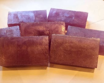 Black Cherry Vanilla Glycerine Soap
