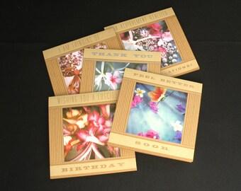 "Set of 5 ""Florabunda"" Cards"