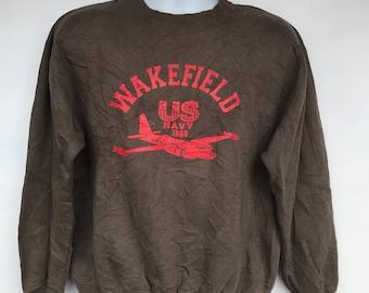 Vintage us navy sweatshirt